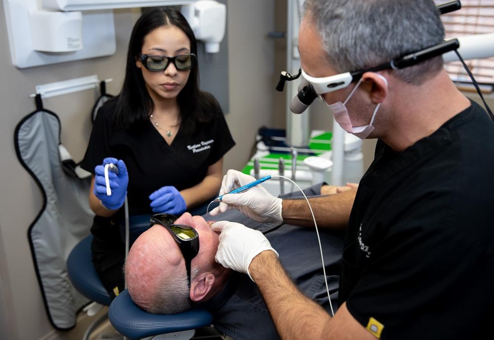 LANAP treatment with Dr. Carlos Falls Church, VA