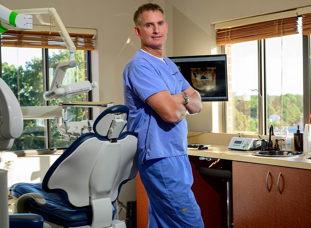 Dr. Gouldin at Northern Virginia Periodontics
