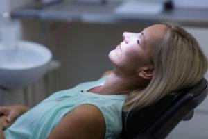 Dental Patient Under A Dental Sedative